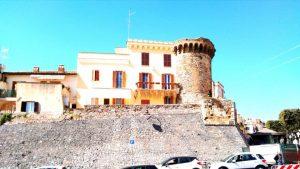 Vista del castello medioevale di Nettuno (Rm)