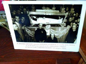 Foto d'epoca della canonizzazione di Maria Goretti