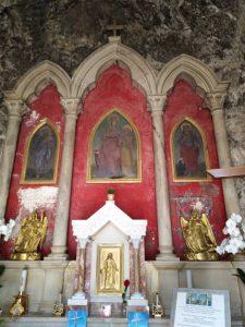 santuario della santissima trinità a Vallepietra