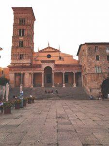 Il centro storico di Terracina