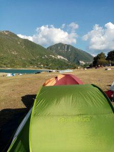 campeggio libero nel lazio